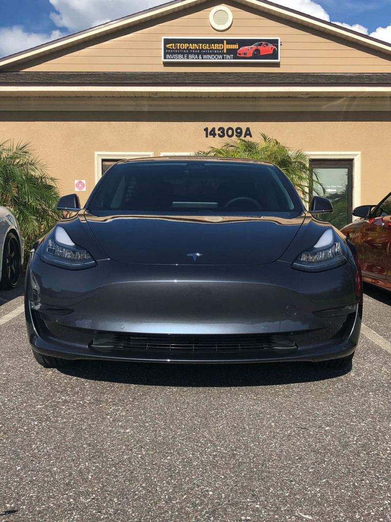 Tesla Paint Protection Film | Tampa, Florida | Auto Paint Guard